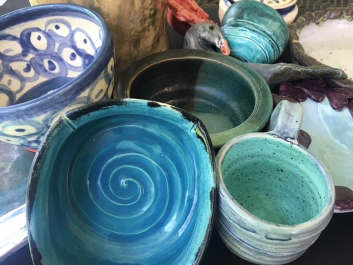 Intermediate to Advanced Ceramic Forms-  Hand building and wheel throwing
