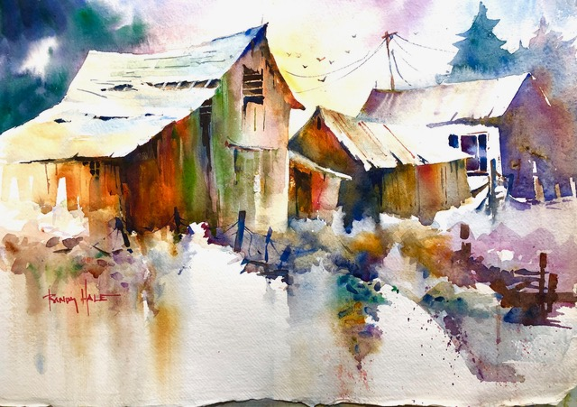 Watercolor Landscapes That Pop!