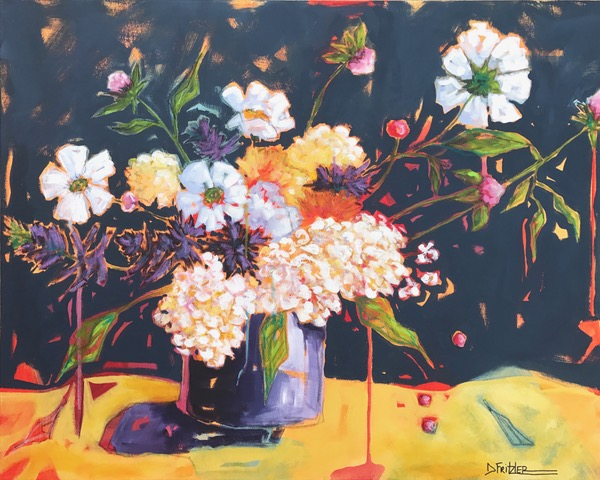 Painting Bodacious Blooms