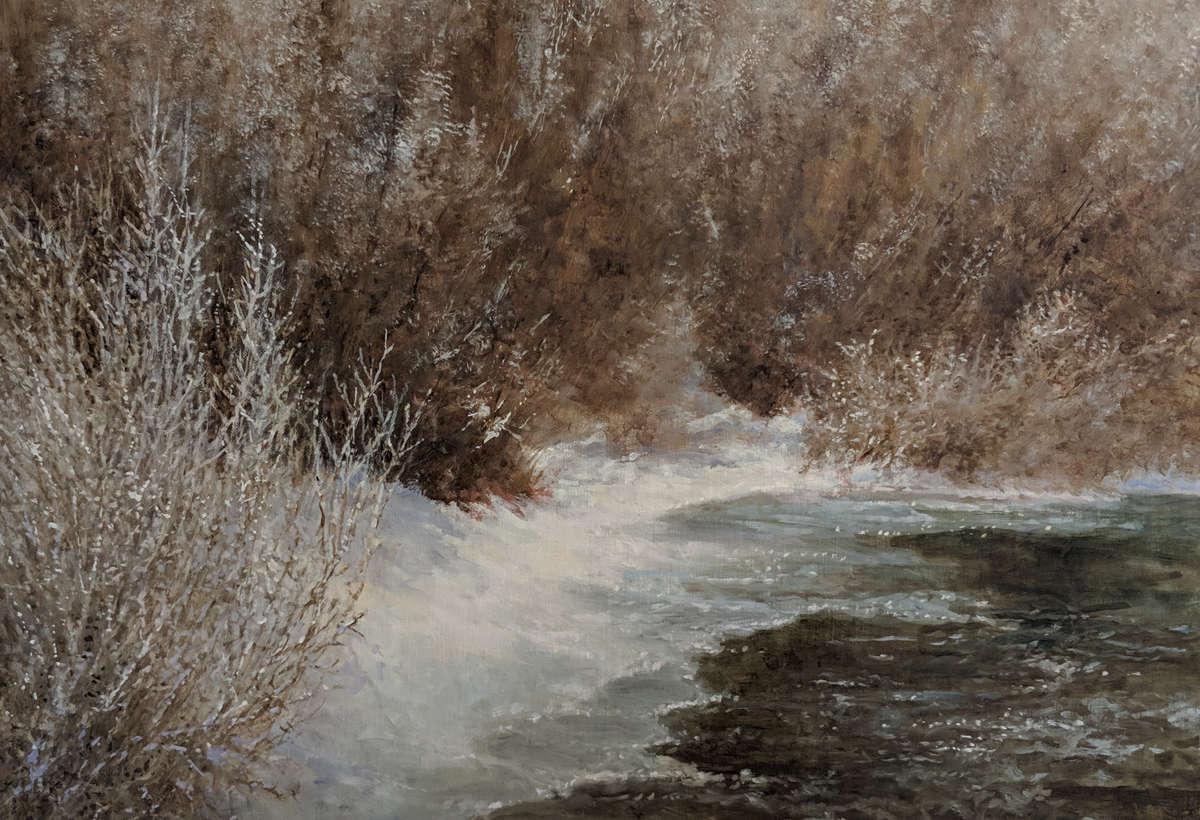 Intermediate/Advanced Oil Painting – Mornings – Winter