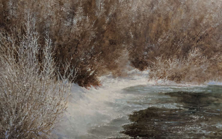 Intermediate/Advanced Oil Painting – Mornings – Winter