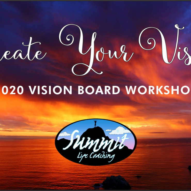 Create Your Vision: Vision Board Workshop 2020