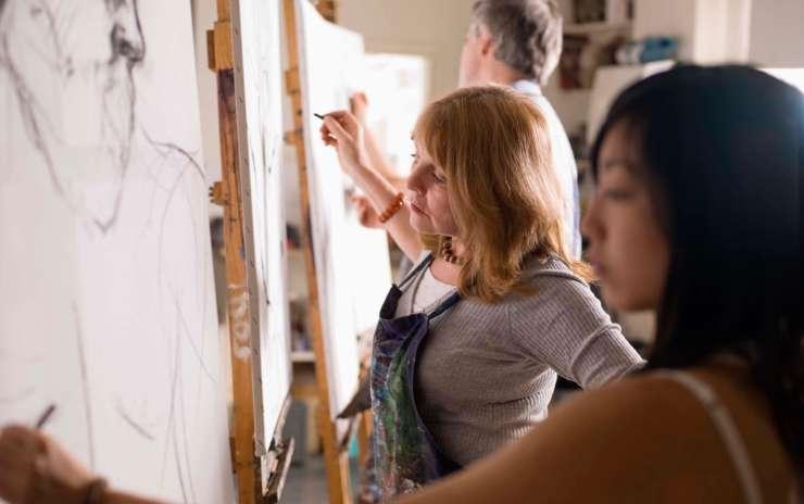 Open Studio/Figure Drawing – January