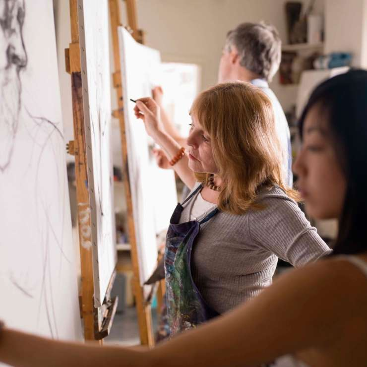 Open Studio/Figure Drawing – January
